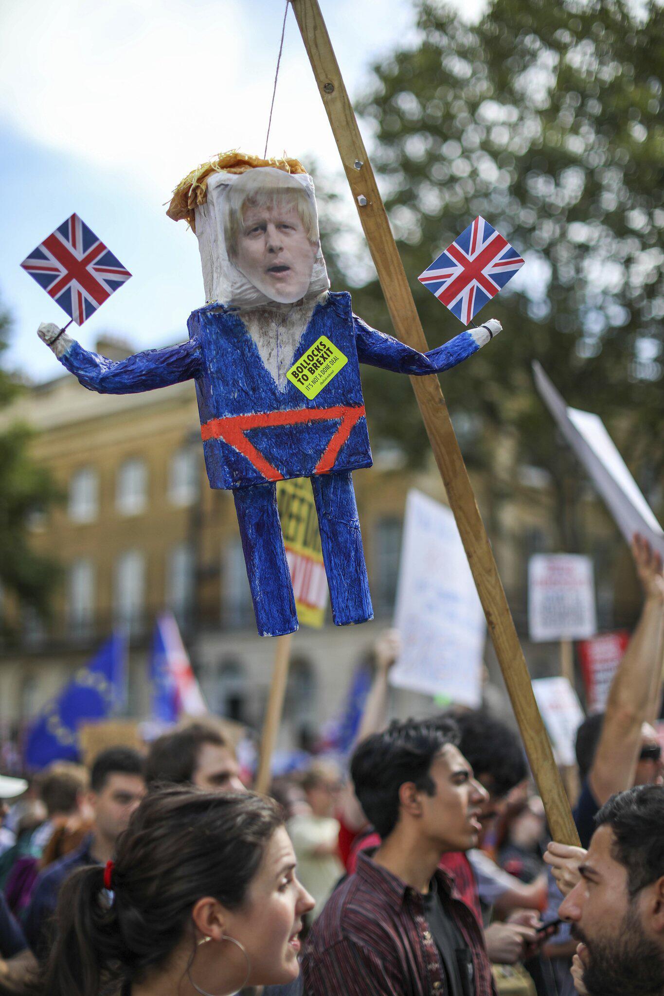 Bild zu Anti-Brexit-Demo in Großbritannien