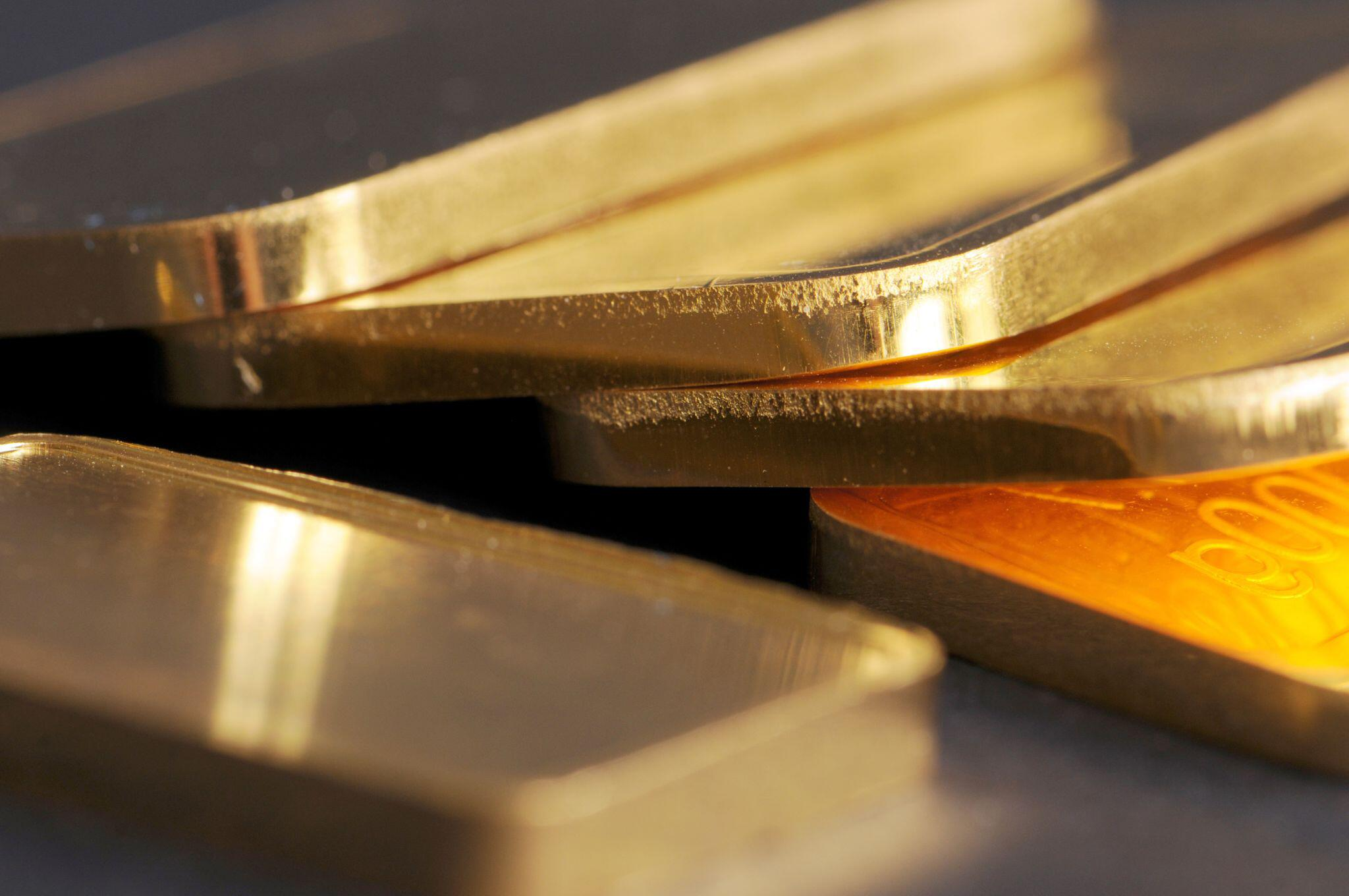 Bild zu Goldbarren