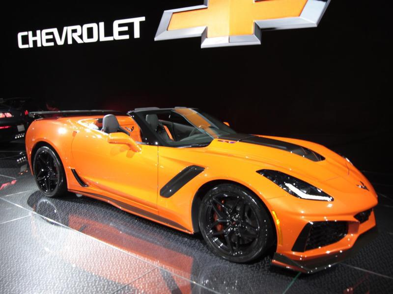 Bild zu Corvette ZR1