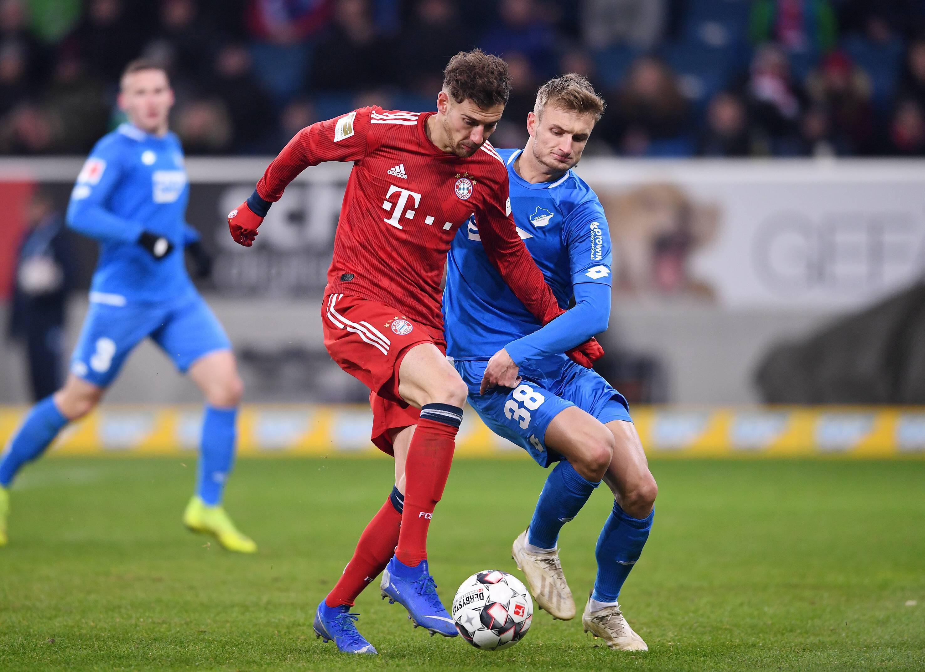 Bild zu Fußball, Bundesliga, Hoffenheim, Bayern, Goretzka