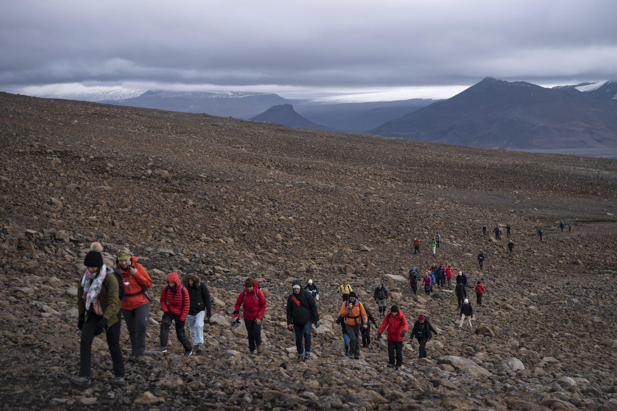 Bild zu Isländischer Gletscher Okjökull