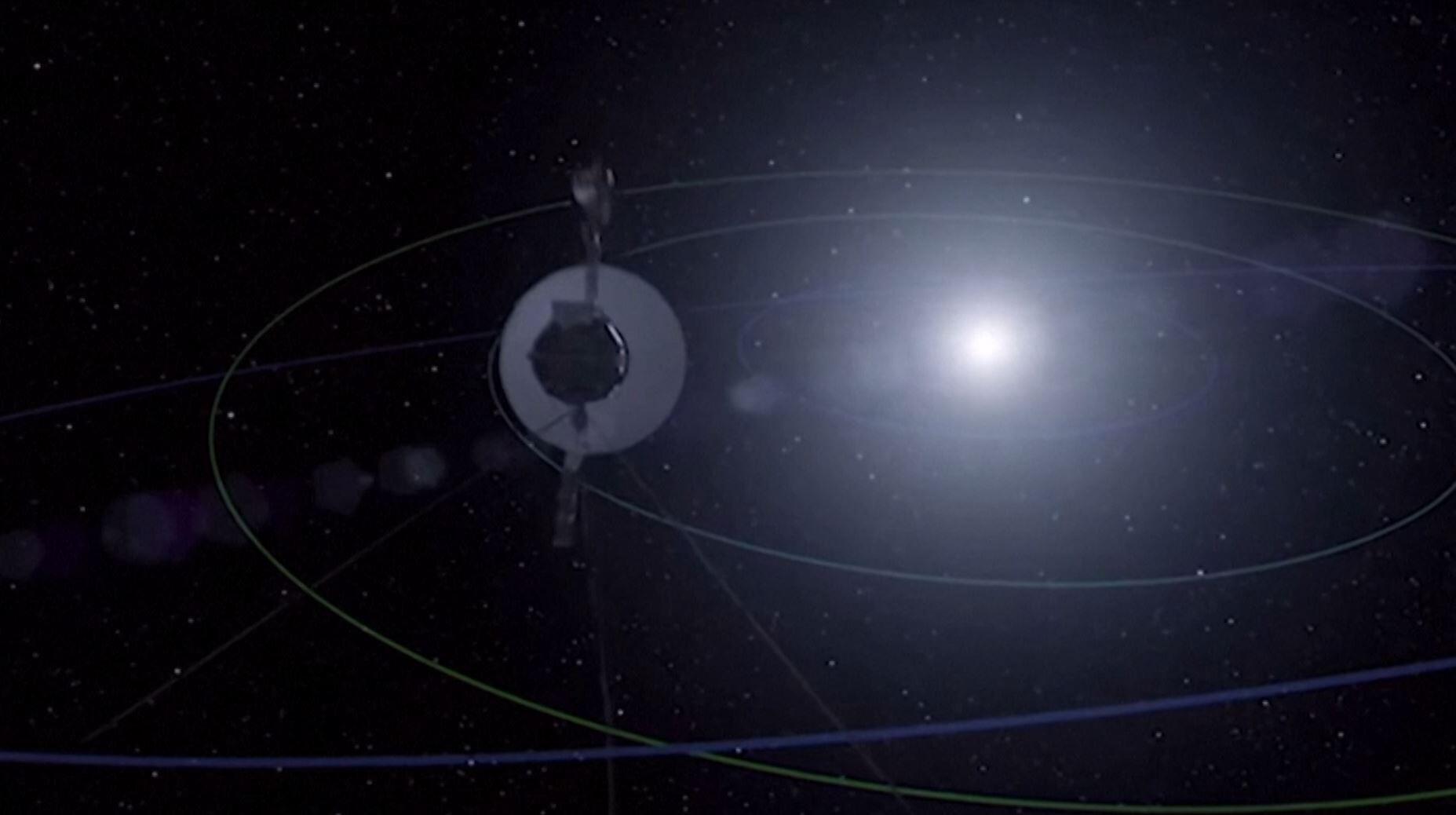 Bild zu Messungen der ''Voyager 2''