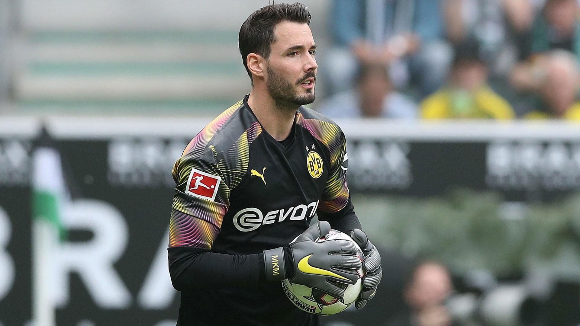 Bild zu Roman Bürki, Borussia Dortmund, Borussia Mönchengladbach, Bundesliga