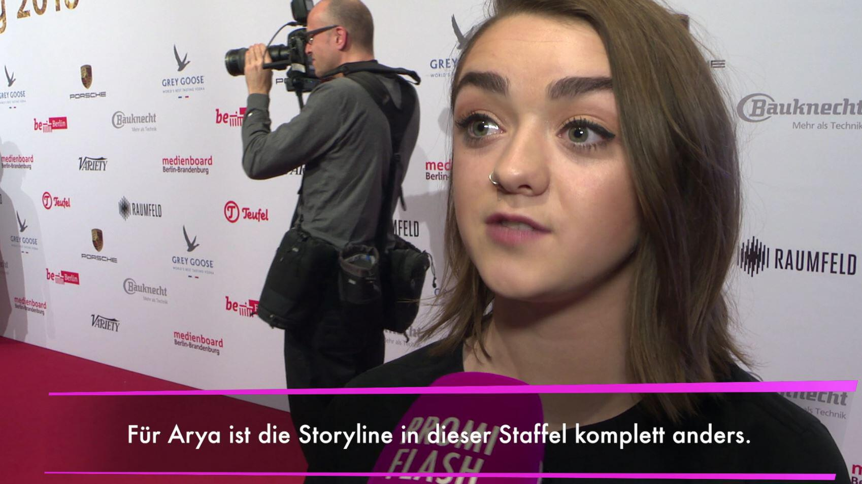"Bild zu Game of Thrones""-Staffel: Maisie Williams verrät Details!"