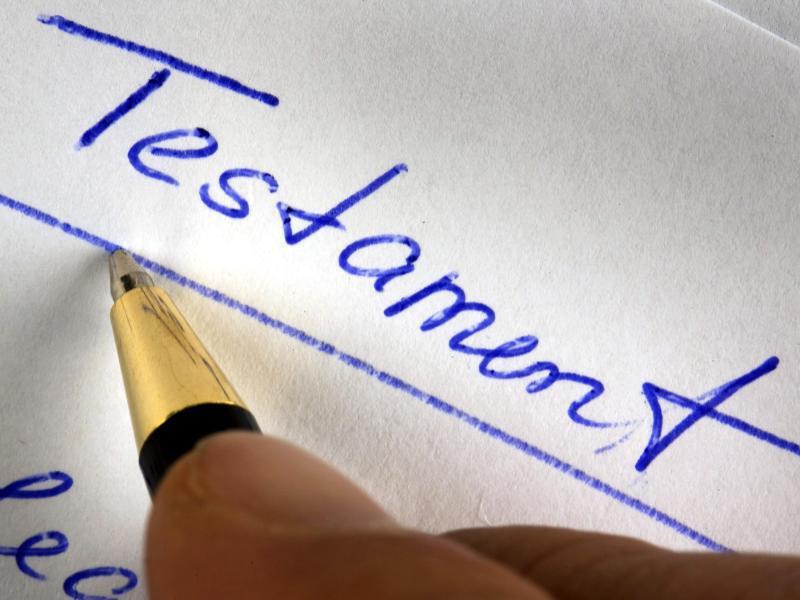 Bild zu Handgeschriebenes Testament