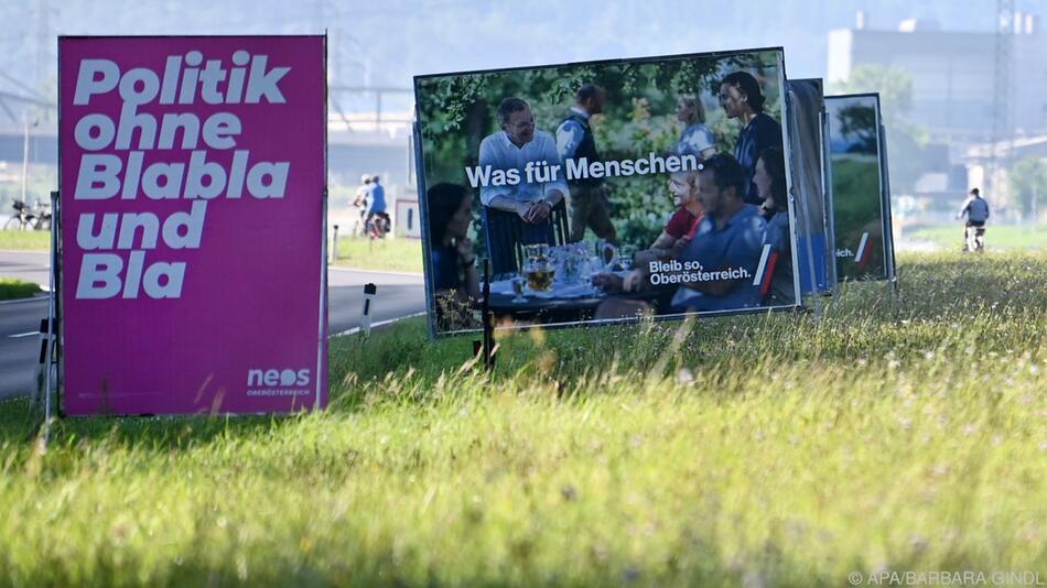 In Oberösterreich macht sich der Wahlkampf bemerkbar