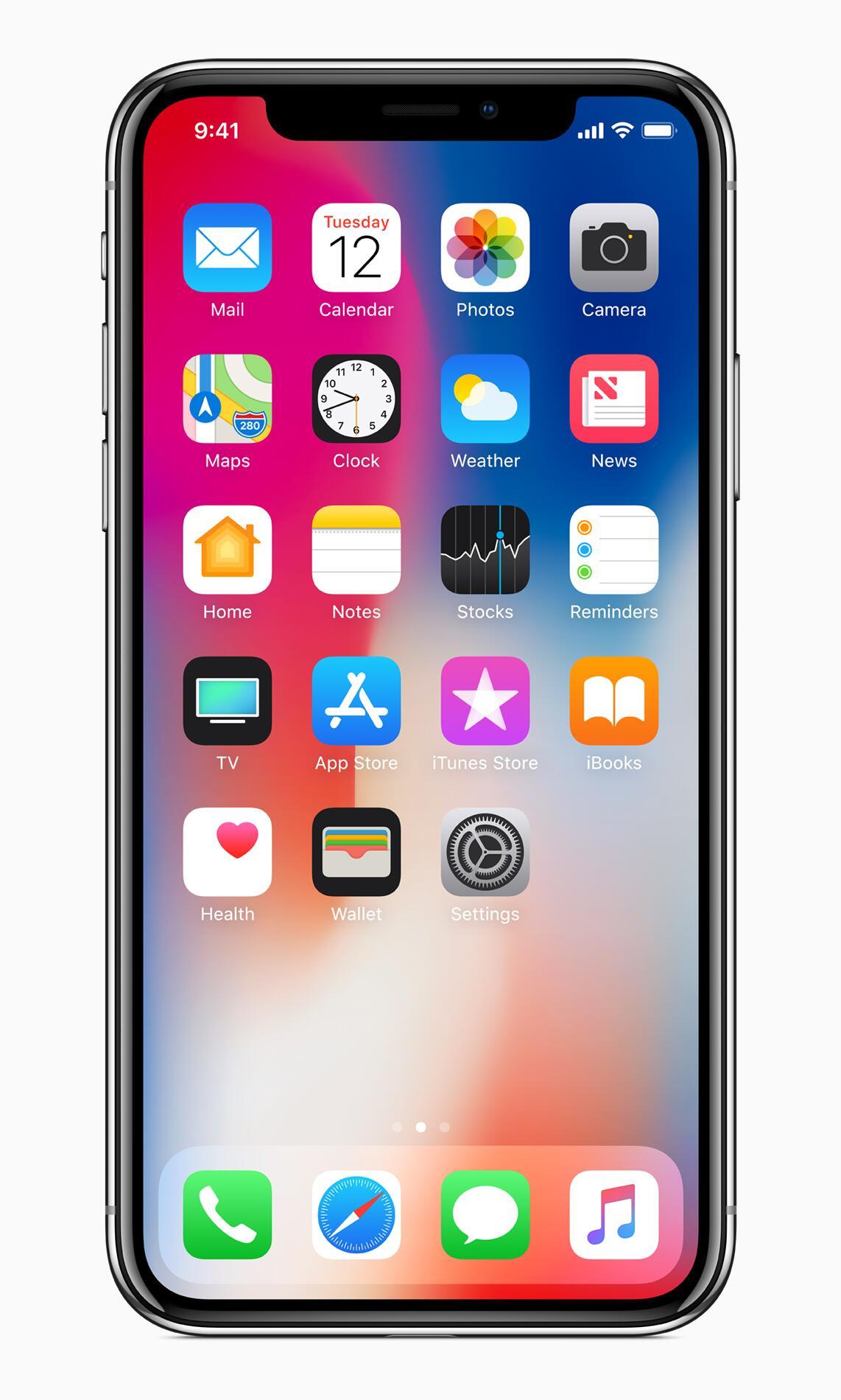 Bild zu iPhone X