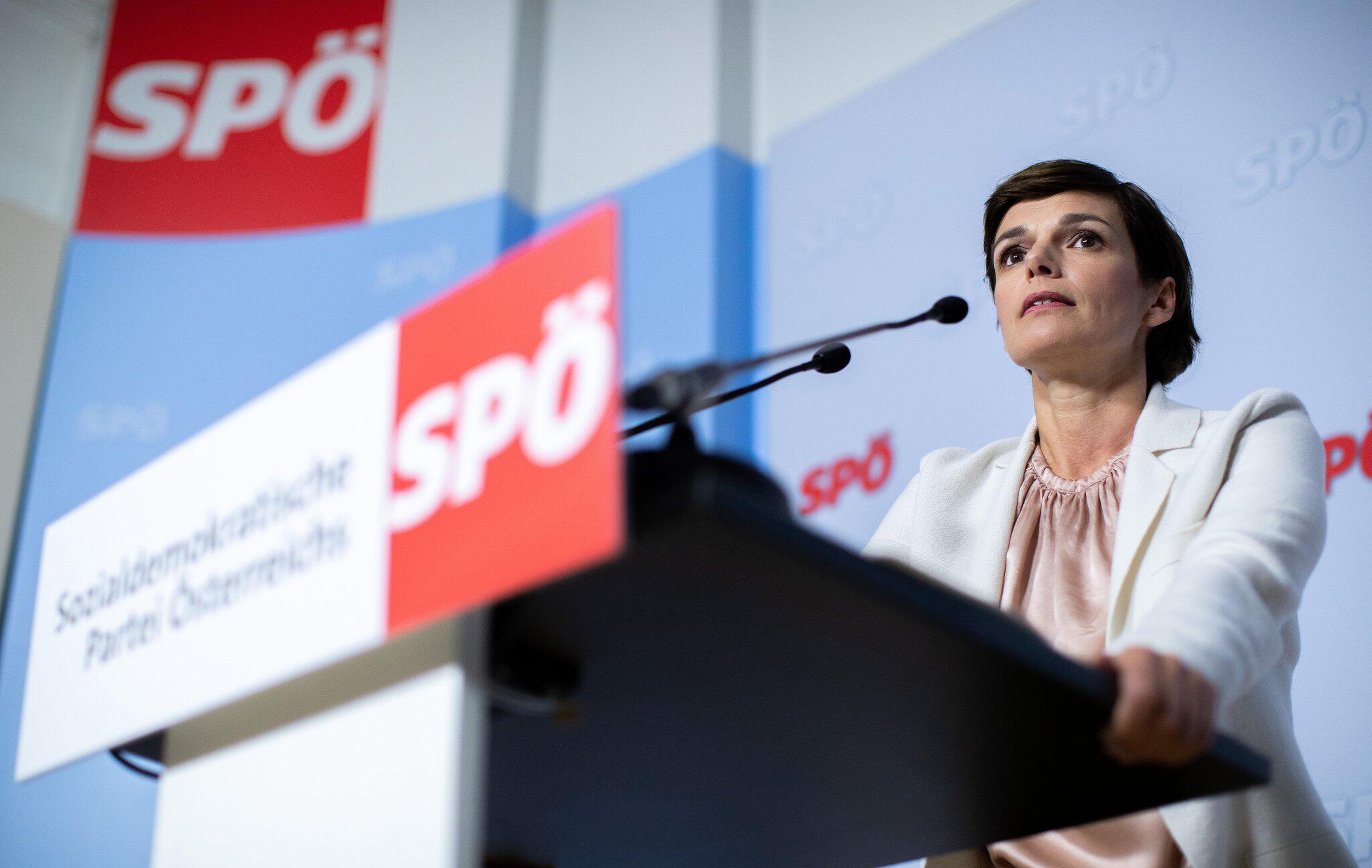 Bild zu SPÖ, Pamela Rendi-Wagner
