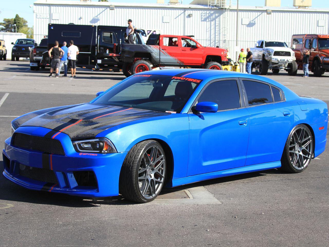 Bild zu Ein blaues Wunder: Mächtig aufgemotzter Dodge Charger von ACE Alloy