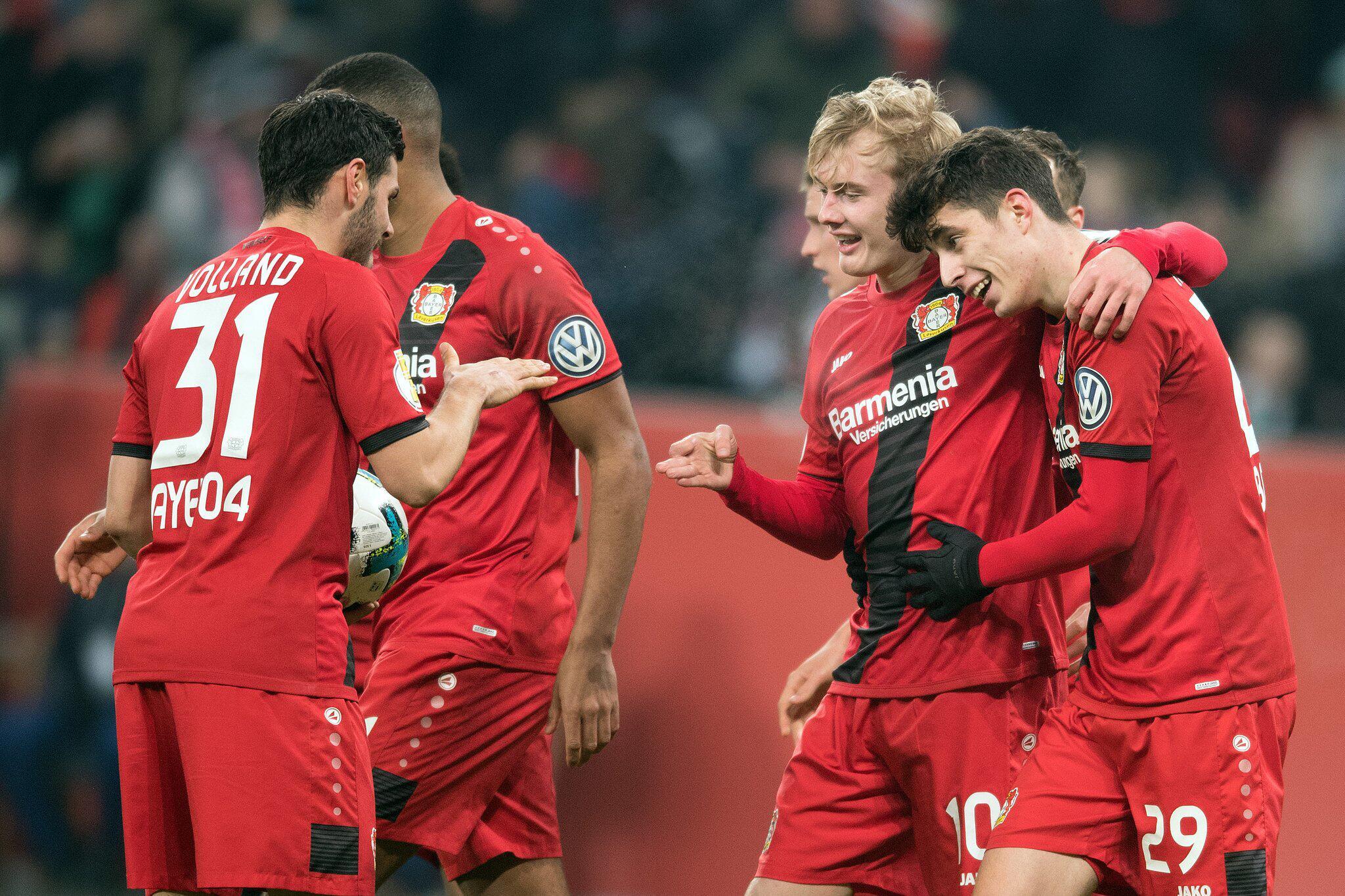 Bild zu Bayer Leverkusen - Werder Bremen