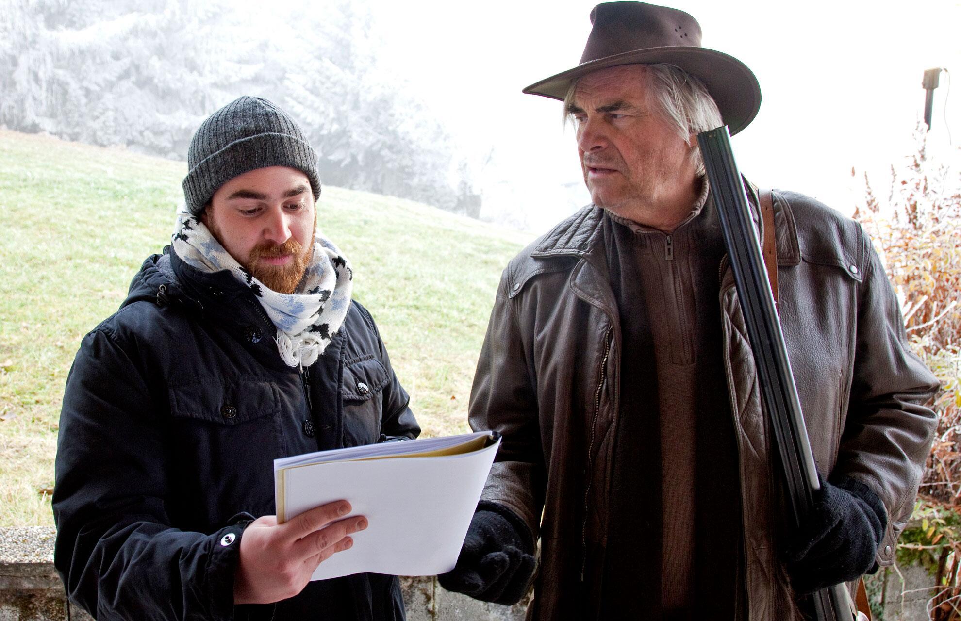 "Bild zu Stefan Müller, Peter Simonischek in ""Biest"""