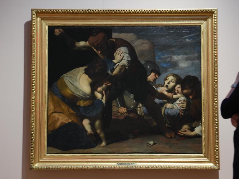 Bild zu Ausstellung «Caravaggios Erben» in Wiesbaden