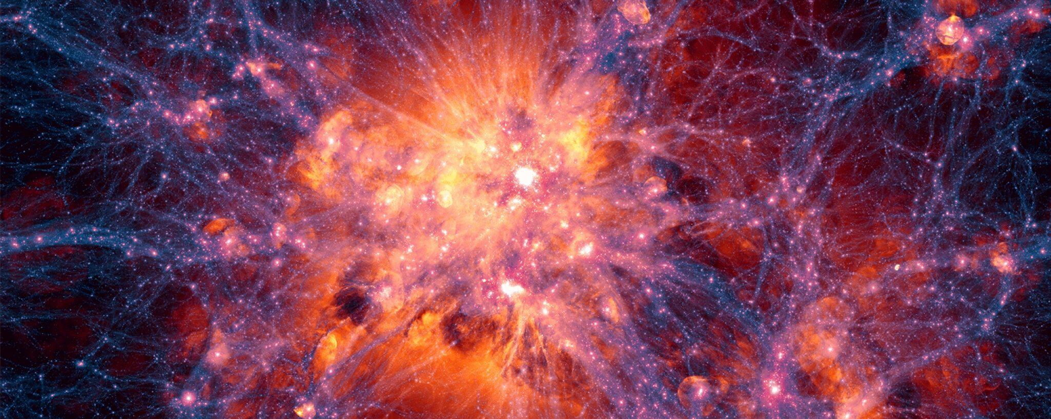 Bild zu Astronomen spüren vermisste Materie im Universum auf