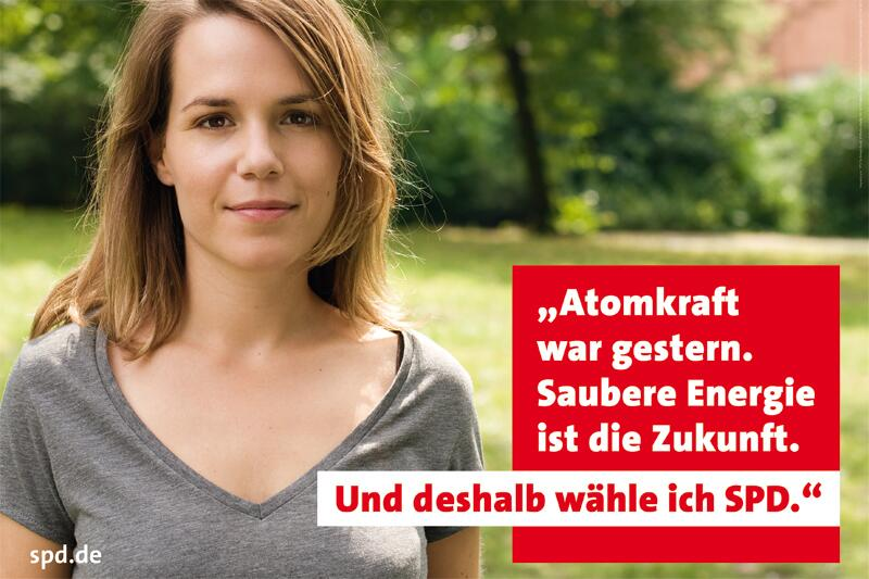 Bild zu SPD-Wahlplakat
