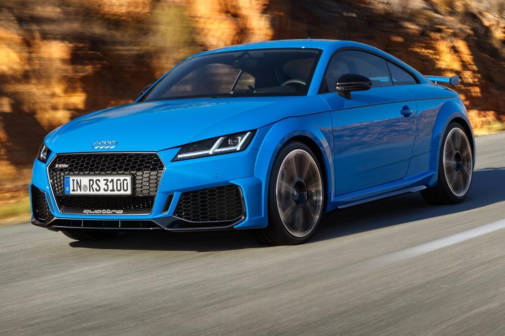 Mit 400 PS noch bissiger: Der neue Audi TT RS als Coupé und Roadster