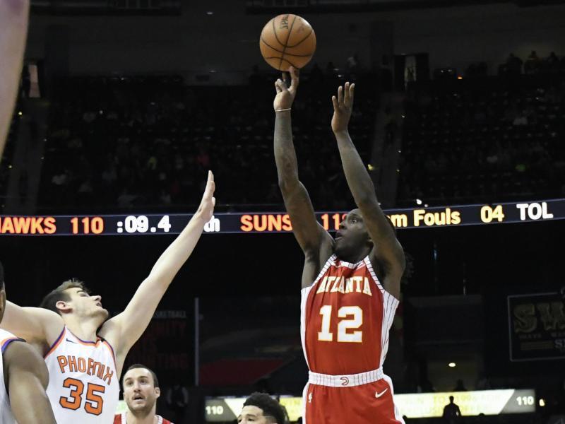 Bild zu Atlanta Hawk - Phoenix Suns