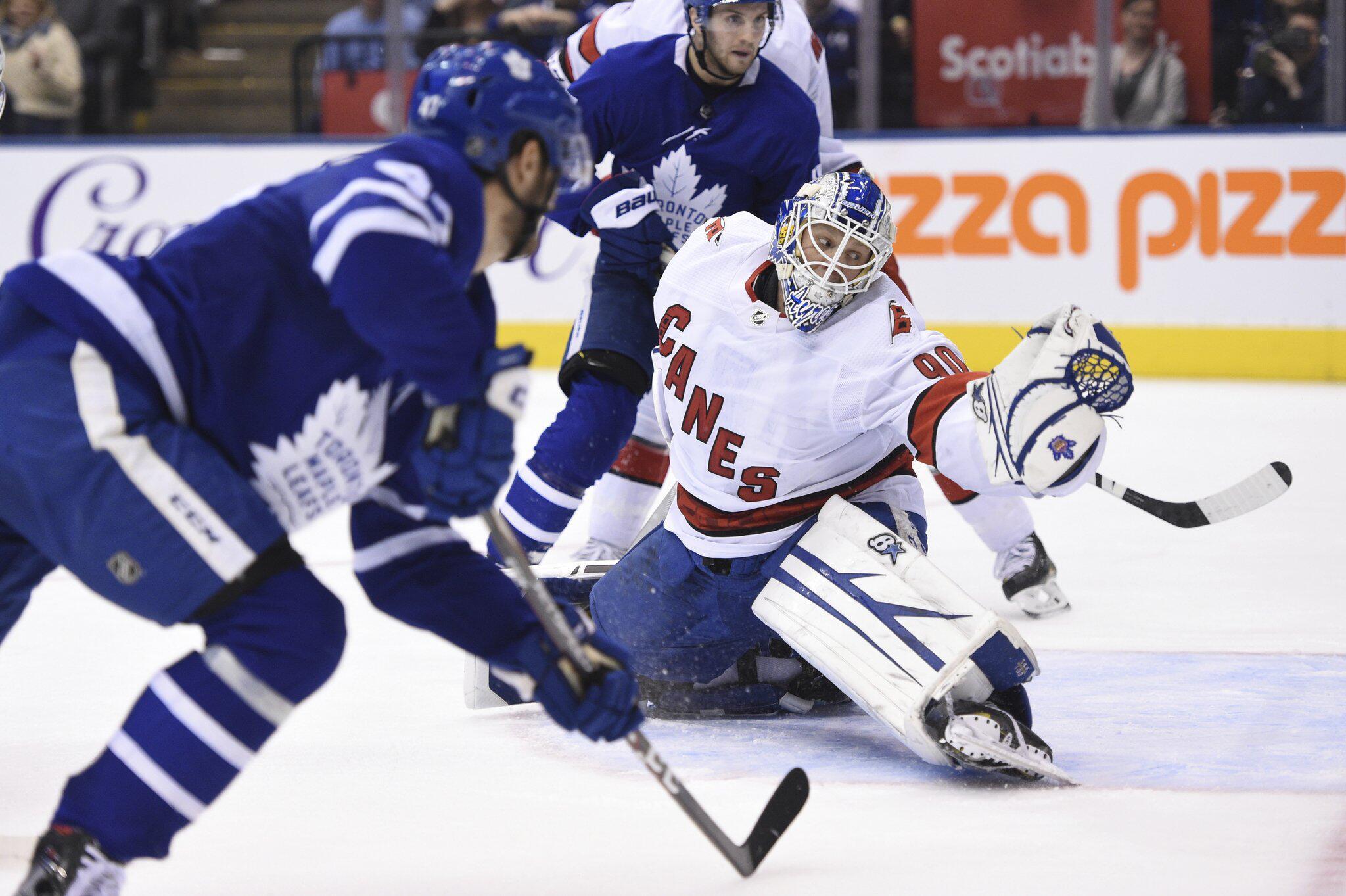 Bild zu Toronto Maple Leafs - Carolina Hurricanes