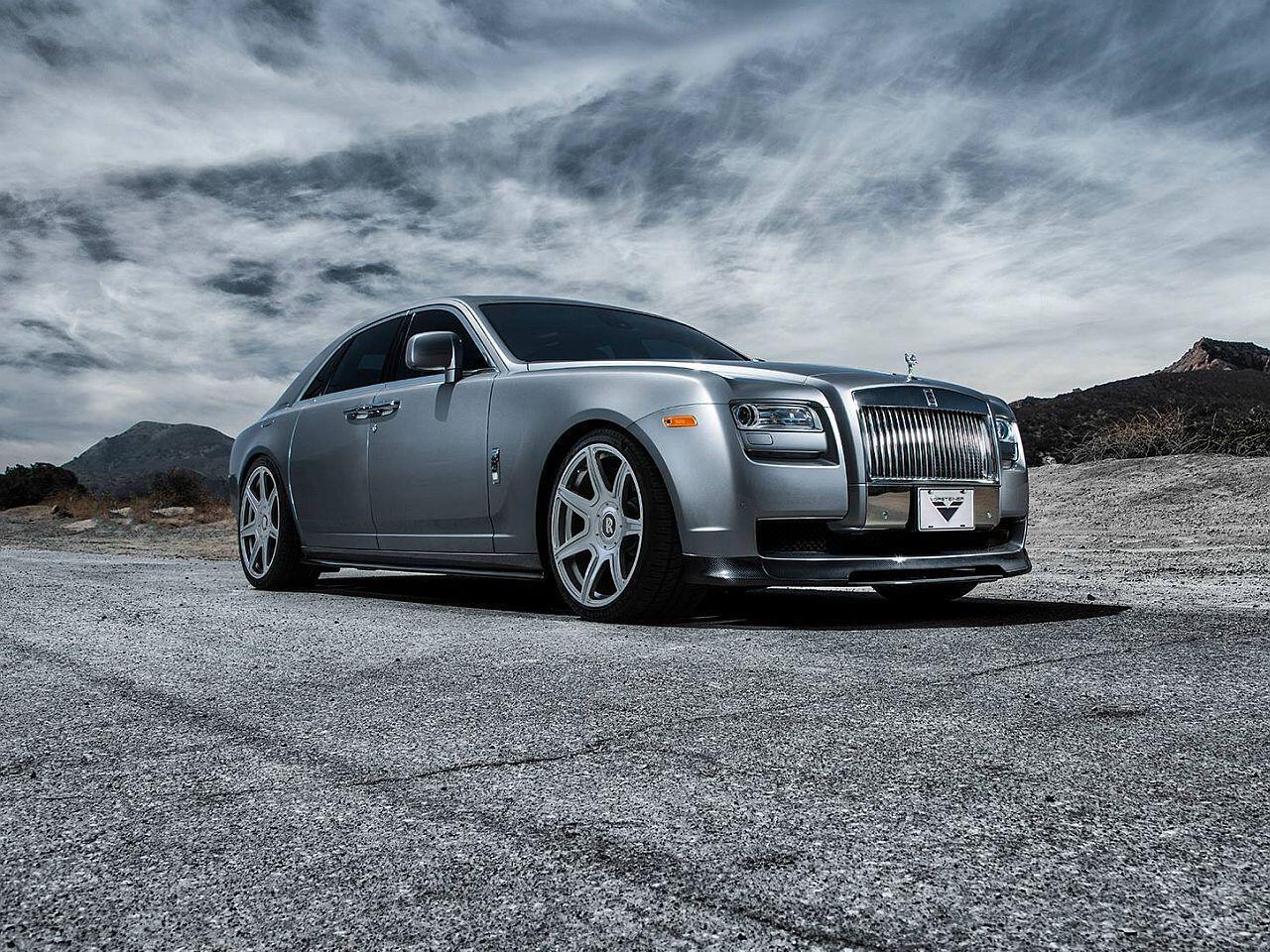 Bild zu Tuning auf den zweiten Blick: Der Rolls-Royce Ghost von Vorsteiner