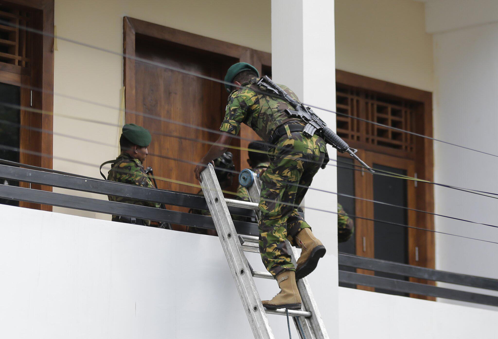 Bild zu Explosionen in Sri Lanka