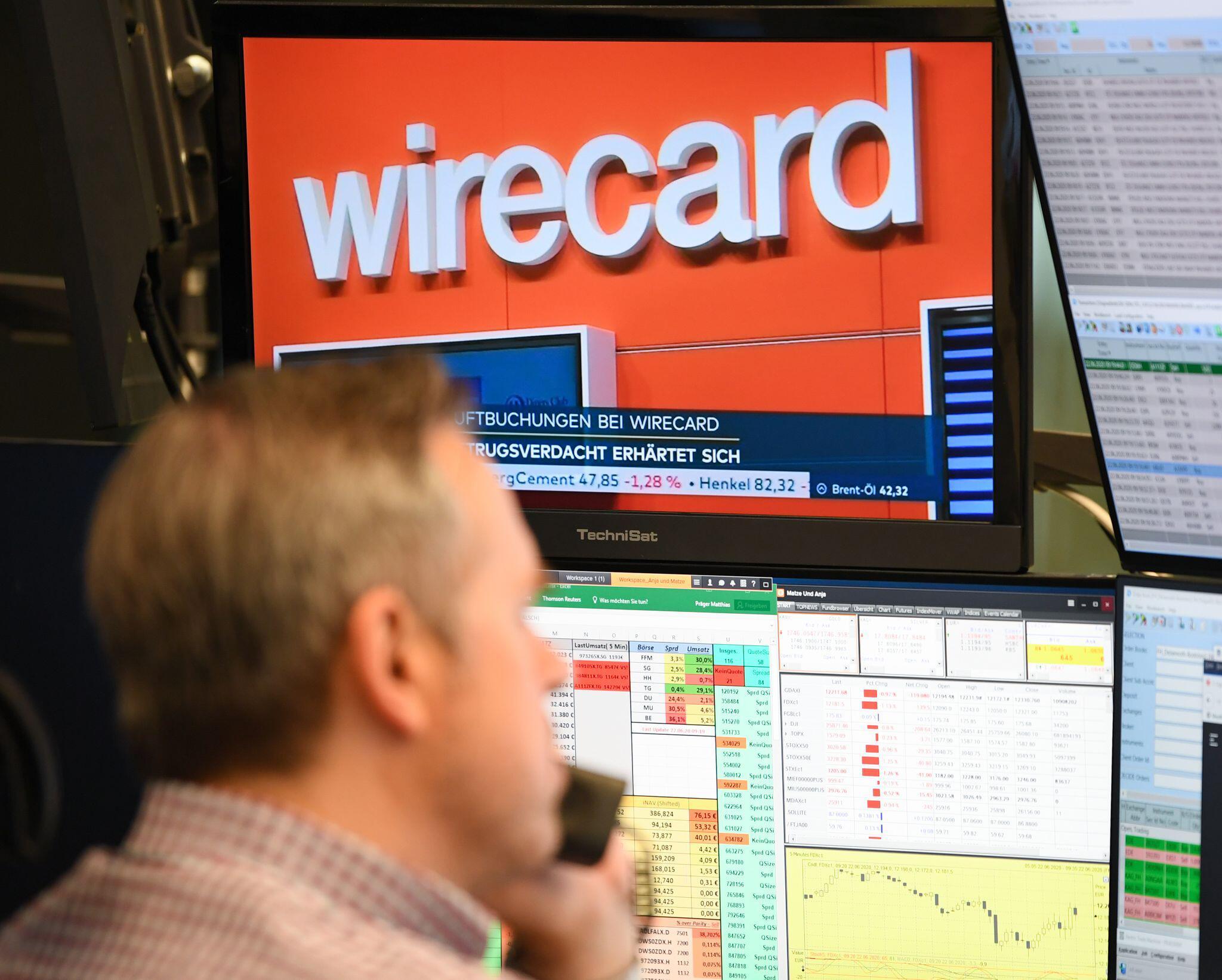 Bild zu Börse Frankfurt - Wirecard-Aktien