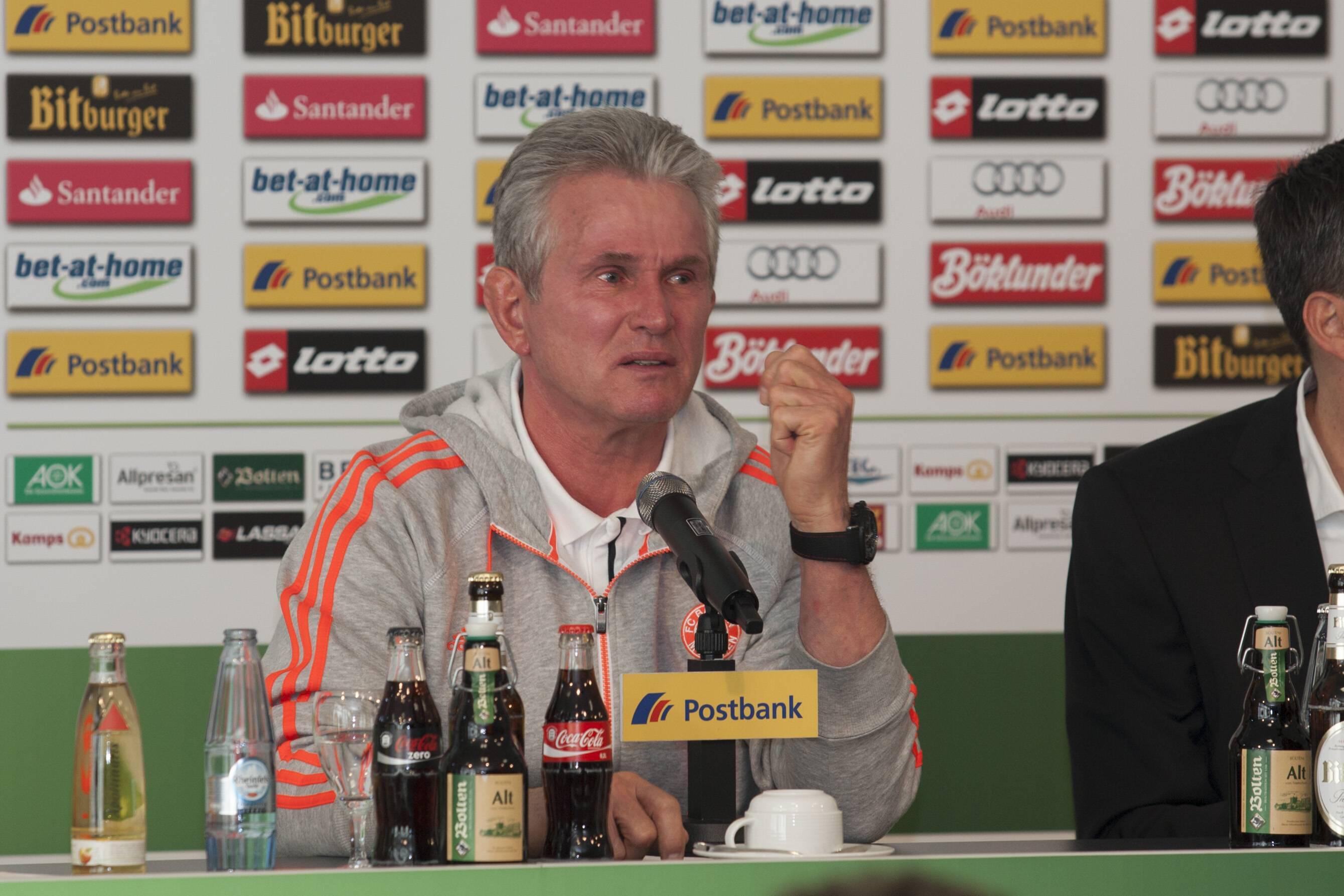 Bild zu Jupp Heynckes, Bundesliga, FC Bayern München, Borussia Mönchengladbach, Bundesliga, 2012/13