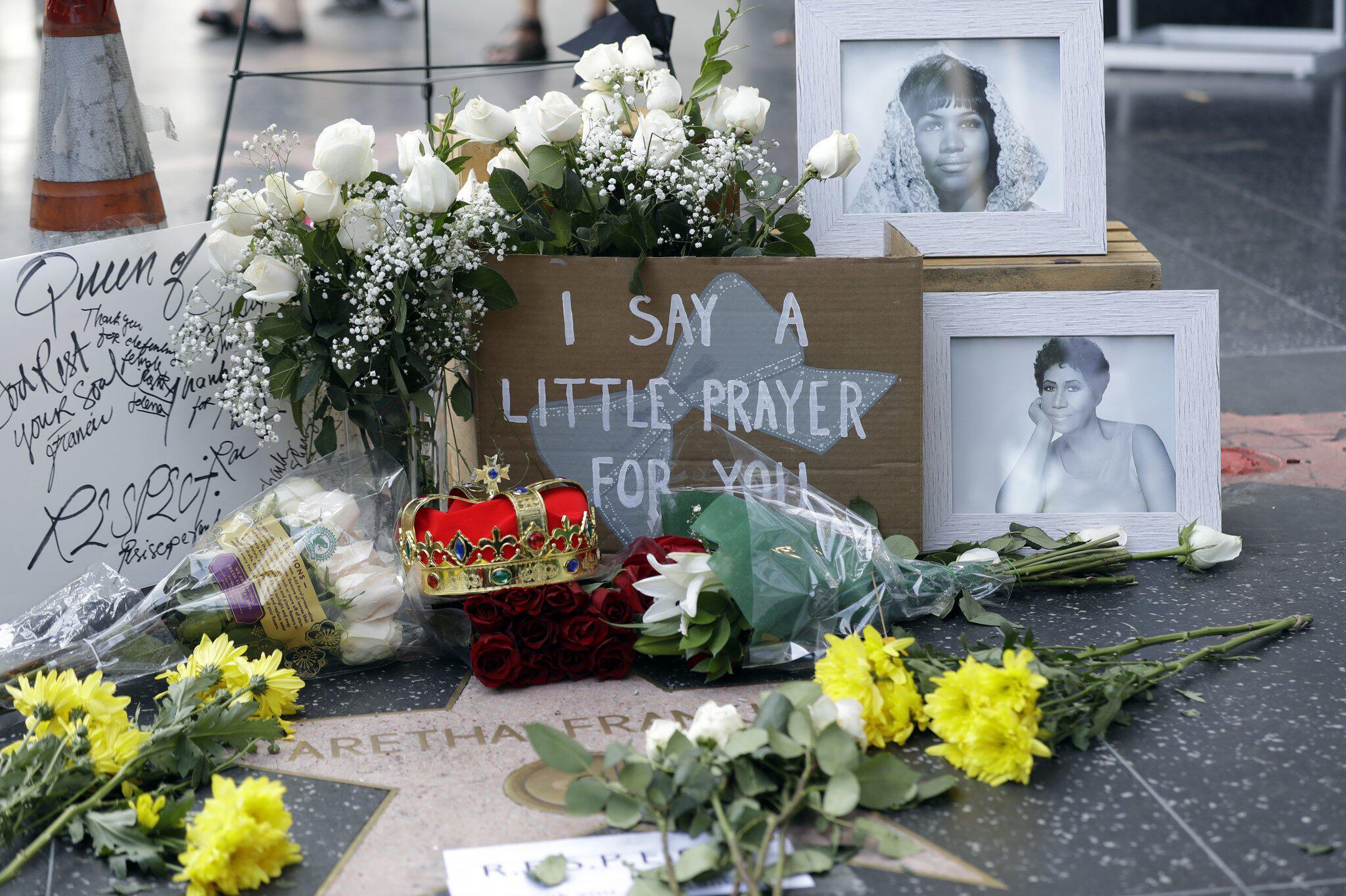 Bild zu Aretha Franklin -Trauer