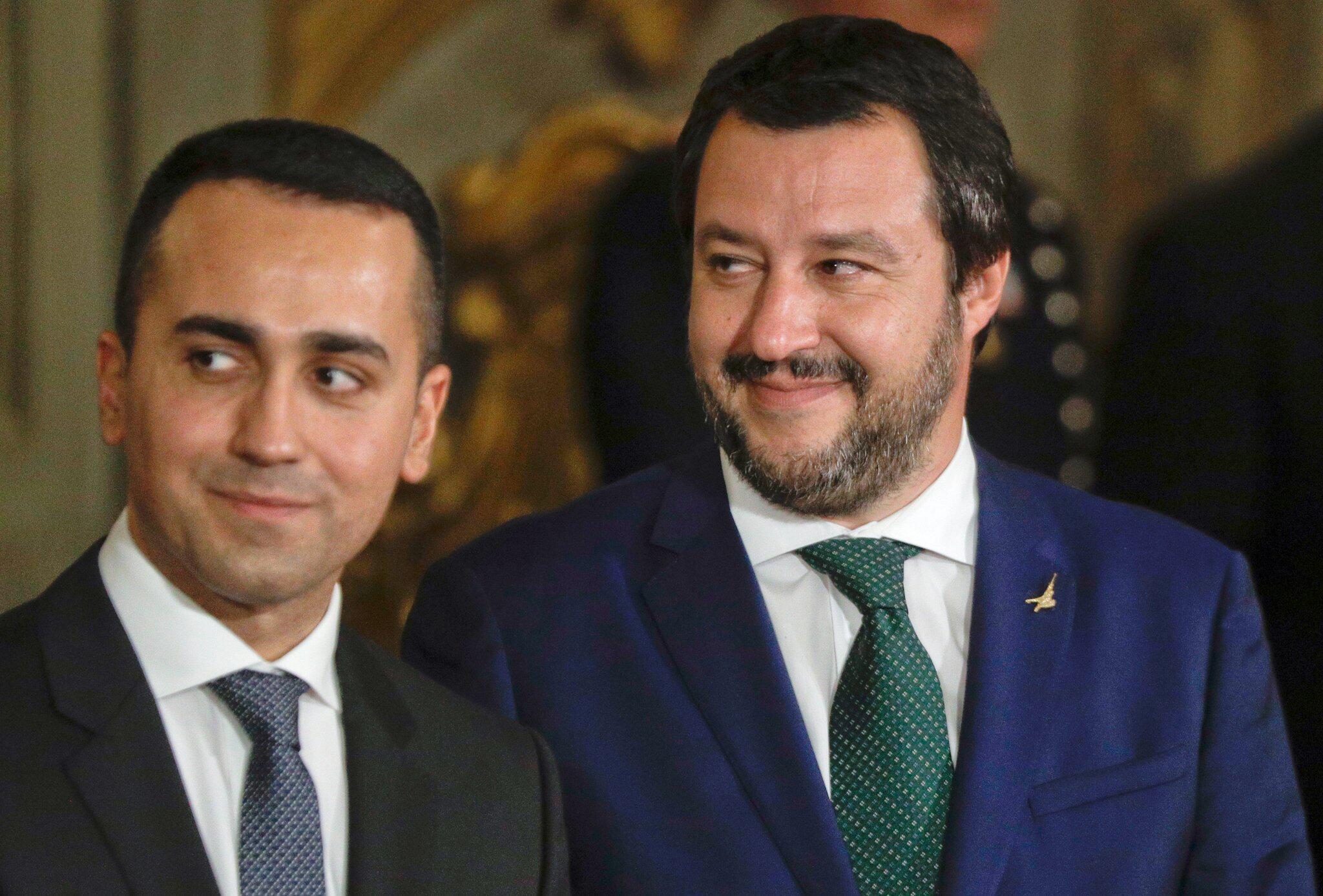 Bild zu Regierungsvereidigung in Italien
