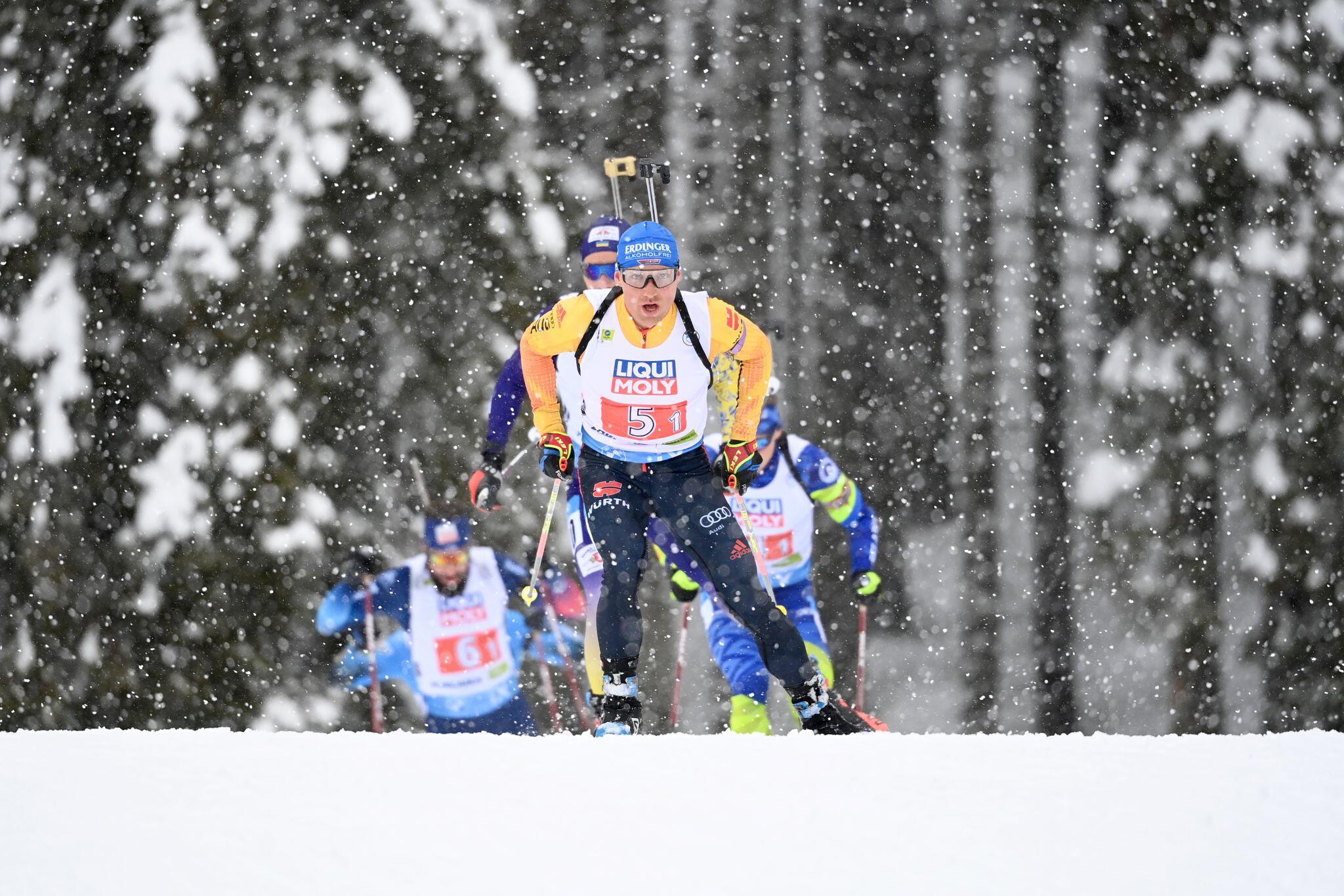 Bild zu Biathlon - WM Pokljuka