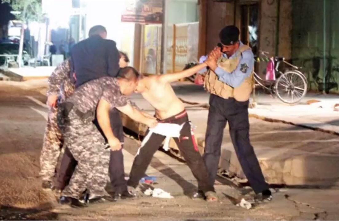 Bild zu Dramatische Bilder aus dem Irak