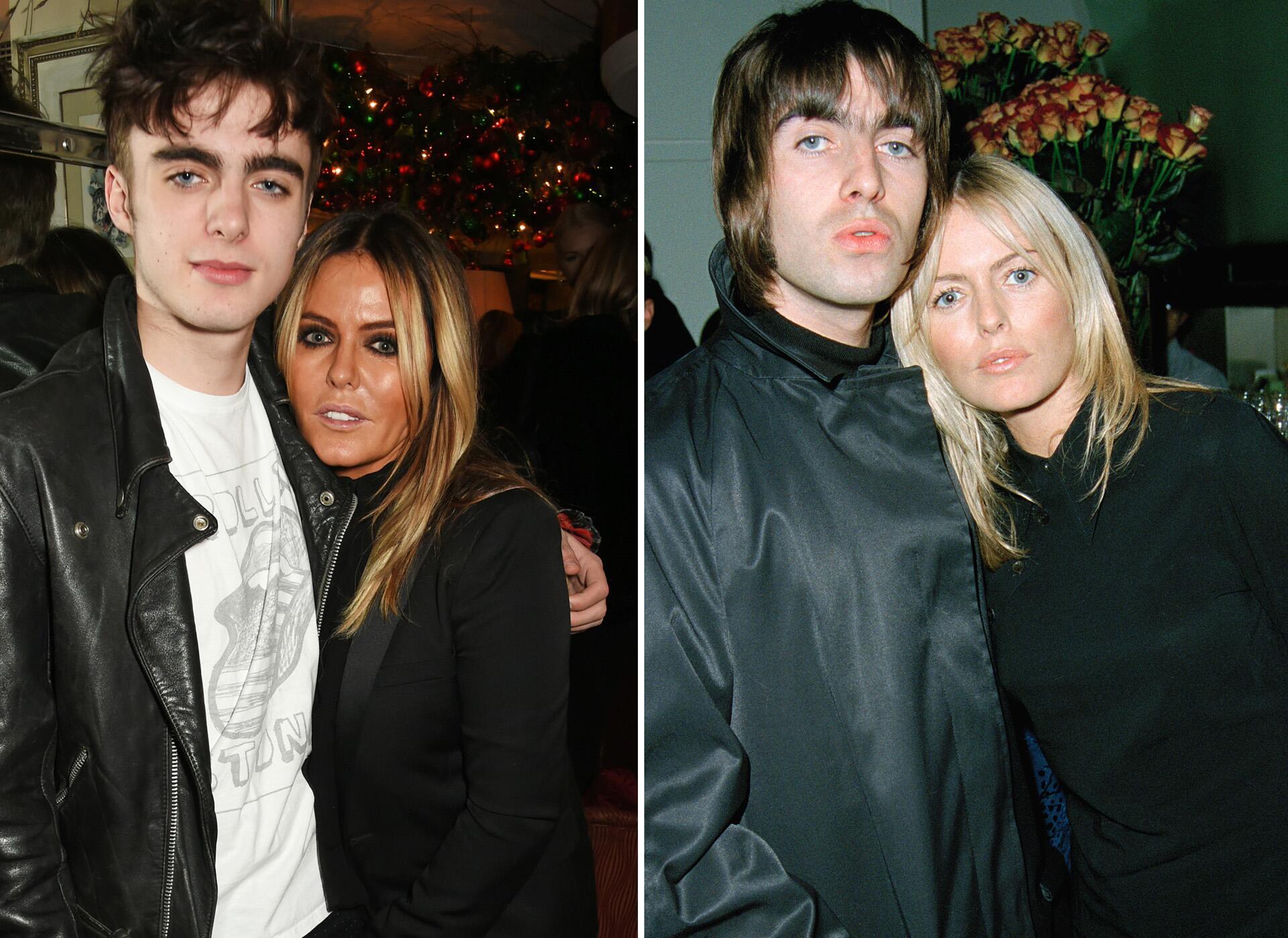 Bild zu Lennon Gallagher, Liam Gallagher