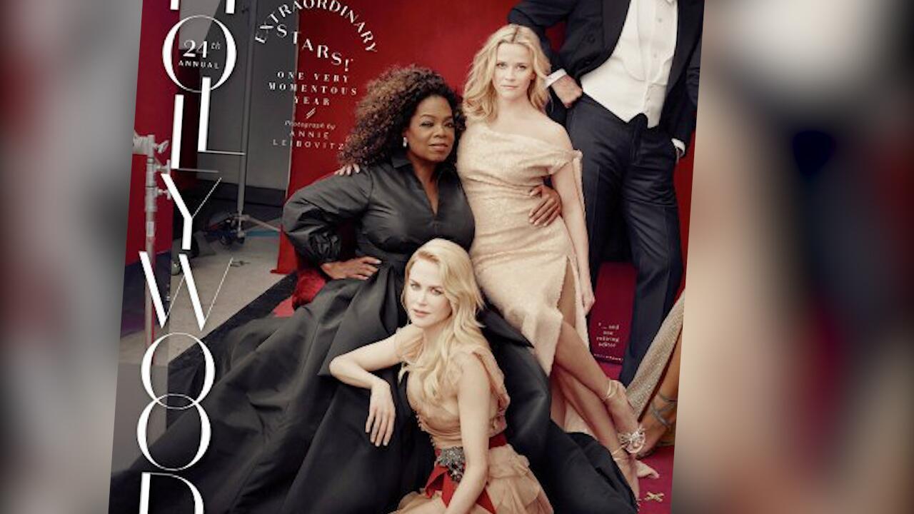 Bild zu Photoshop-Panne: Reese Witherspoon und Oprah Winfrey bekommen zusätzliche Gliedmaße