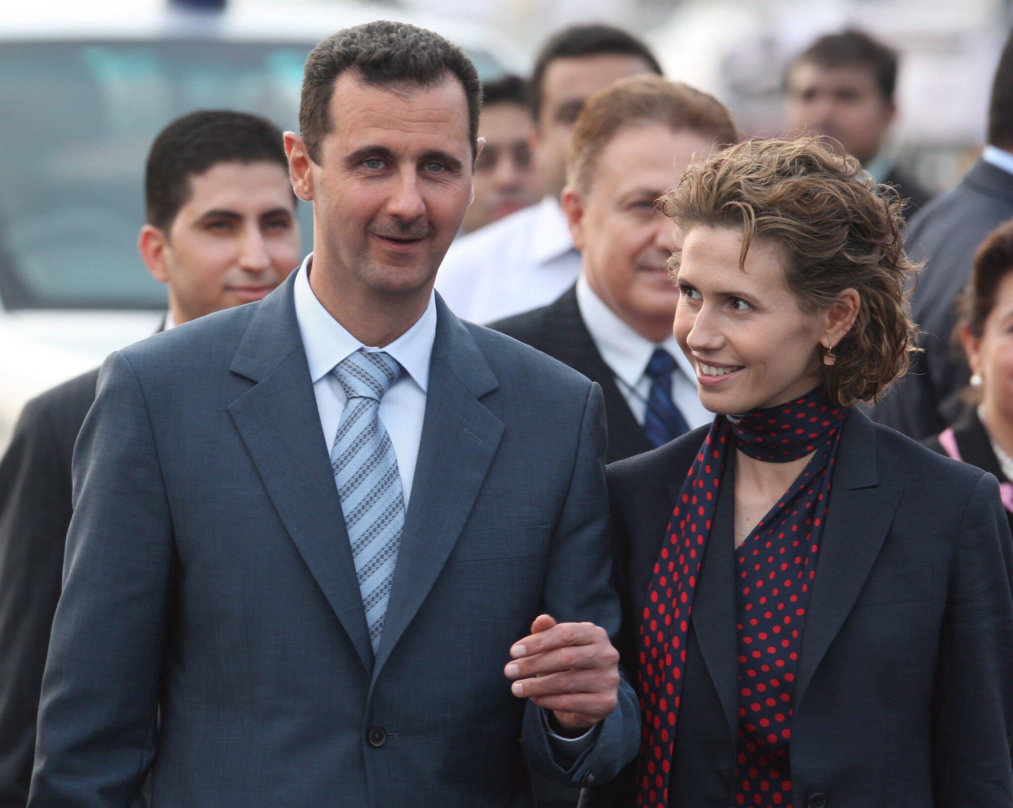 Bild zu Syrische First Lady Asma al-Assad