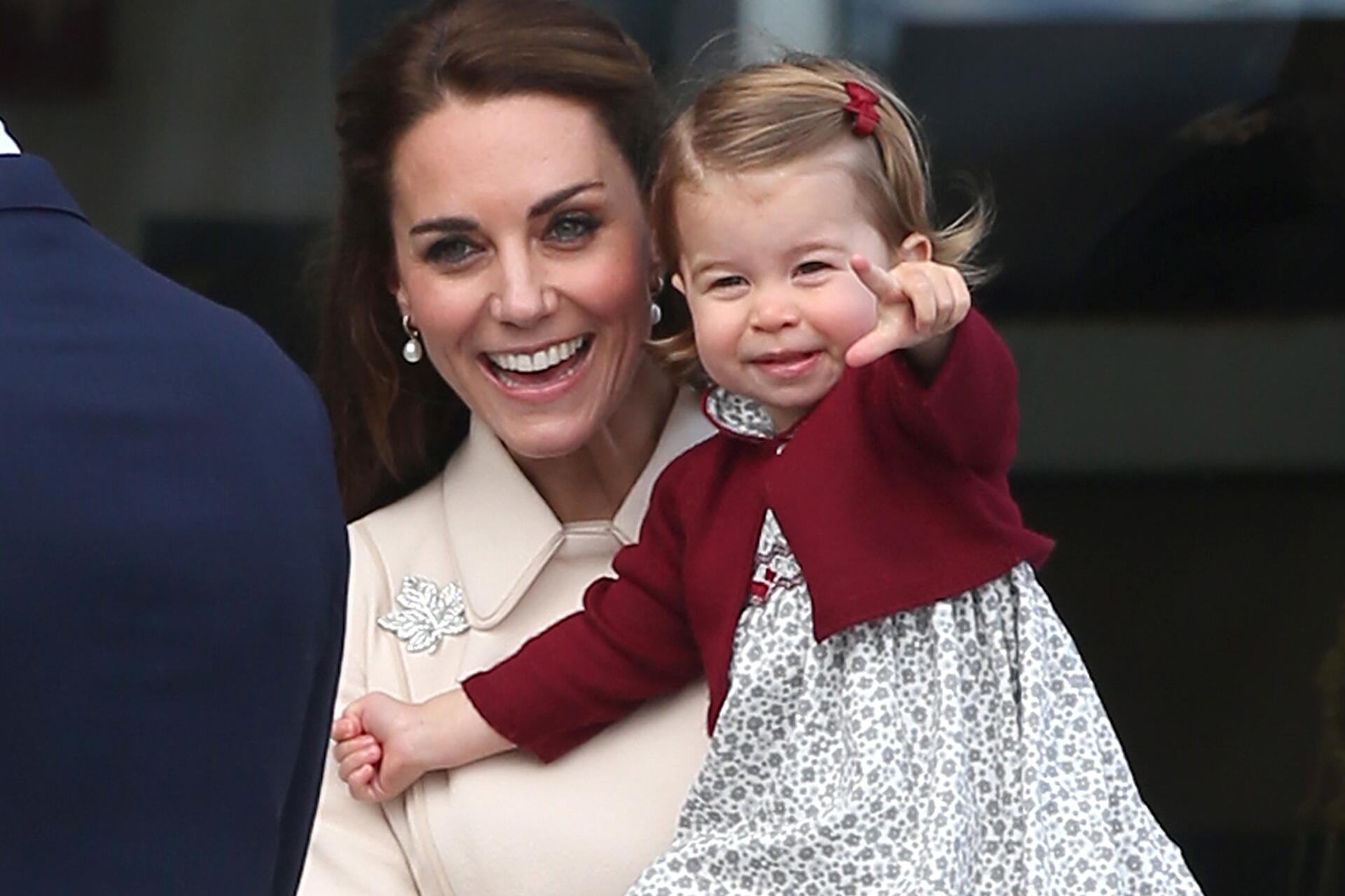 Bild zu Herzogin Kate, Prinzessin Charlotte, Kanada