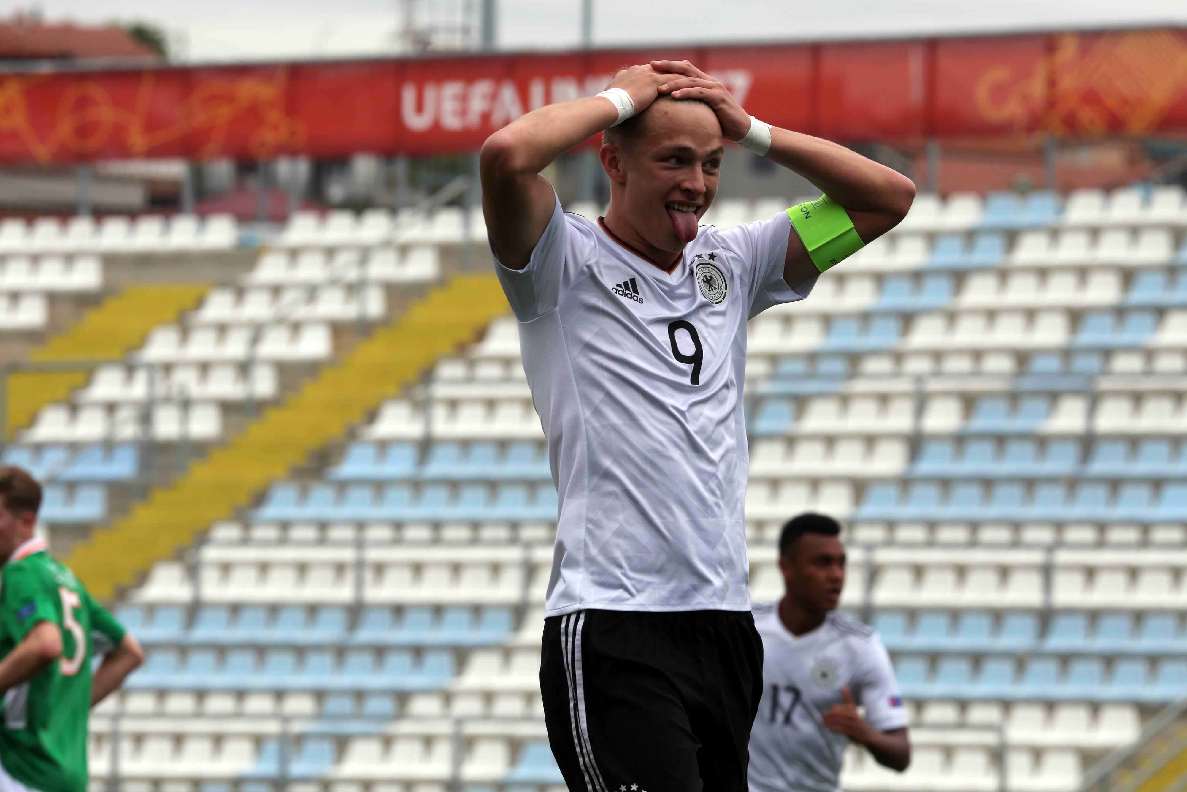 Bild zu Jann-Fiete Arp, U17 WM, Deutschland, deutsche Nationalmannschaft