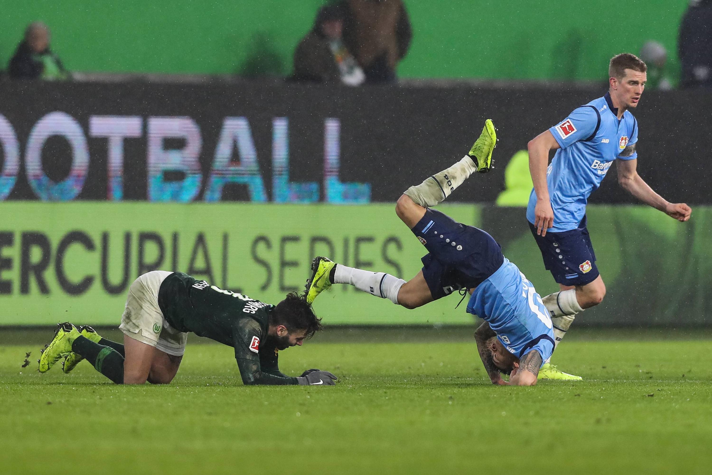 Bild zu Fußball, Bundesliga, Wolfsburg, Leverkusen