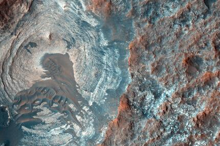 Mars Reconnaissance Orbiter Dünen Hügel