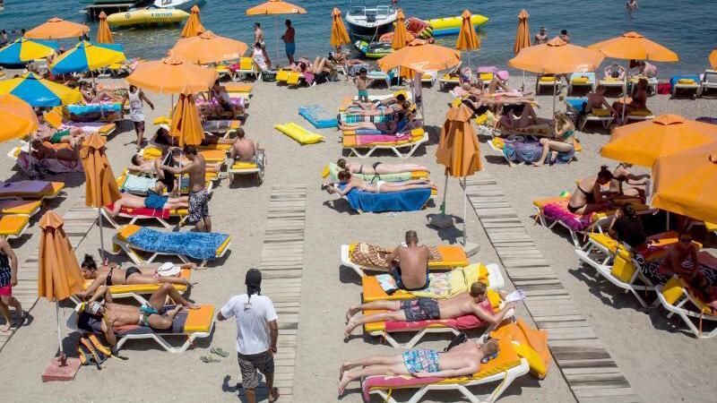 Hitze in Griechenland
