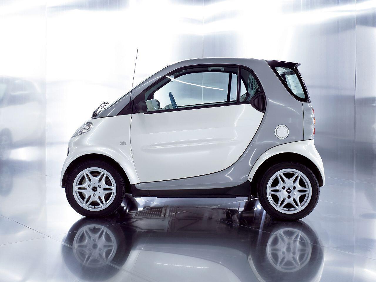 Bild zu Smart Fortwo Coupé: Mit einer Länge von 2,70 Metern das kürzeste Großserien-Auto