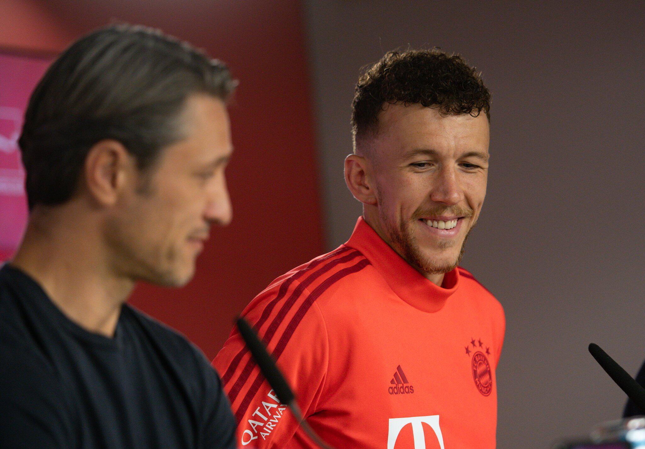 Bild zu FC Bayern München - Präsentation Ivan Perisic