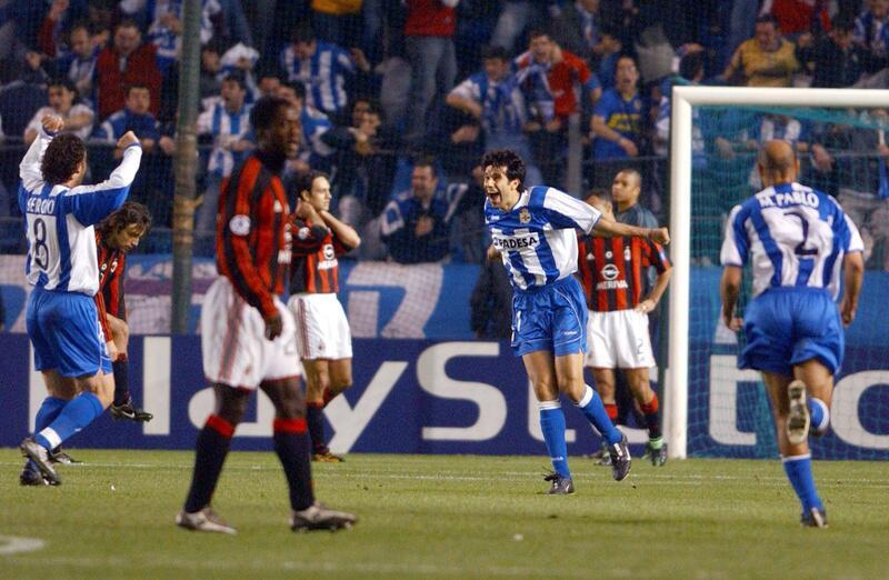 Bild zu Deportivo La Coruna - AC Mailand (Champions League 2003/04)