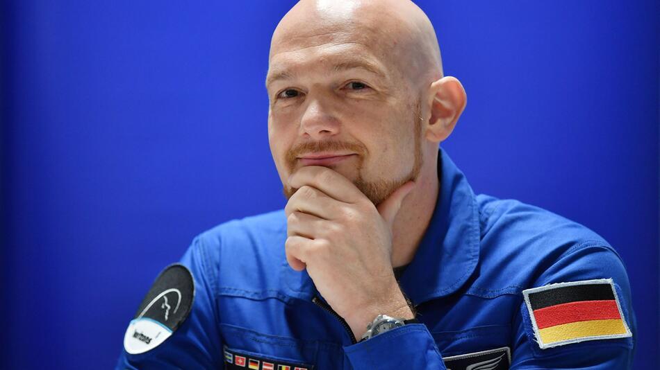 ESA-Astronaut Alexander Gerst