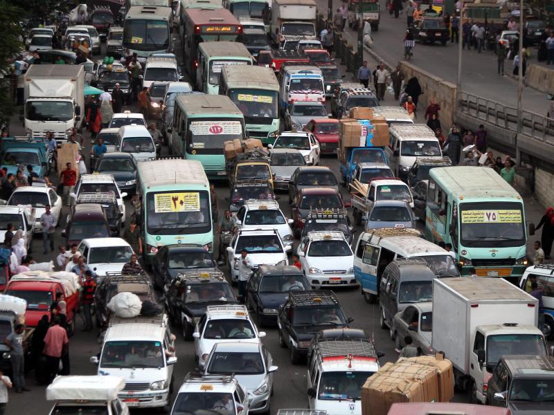Bild zu Verkehr in Kairo