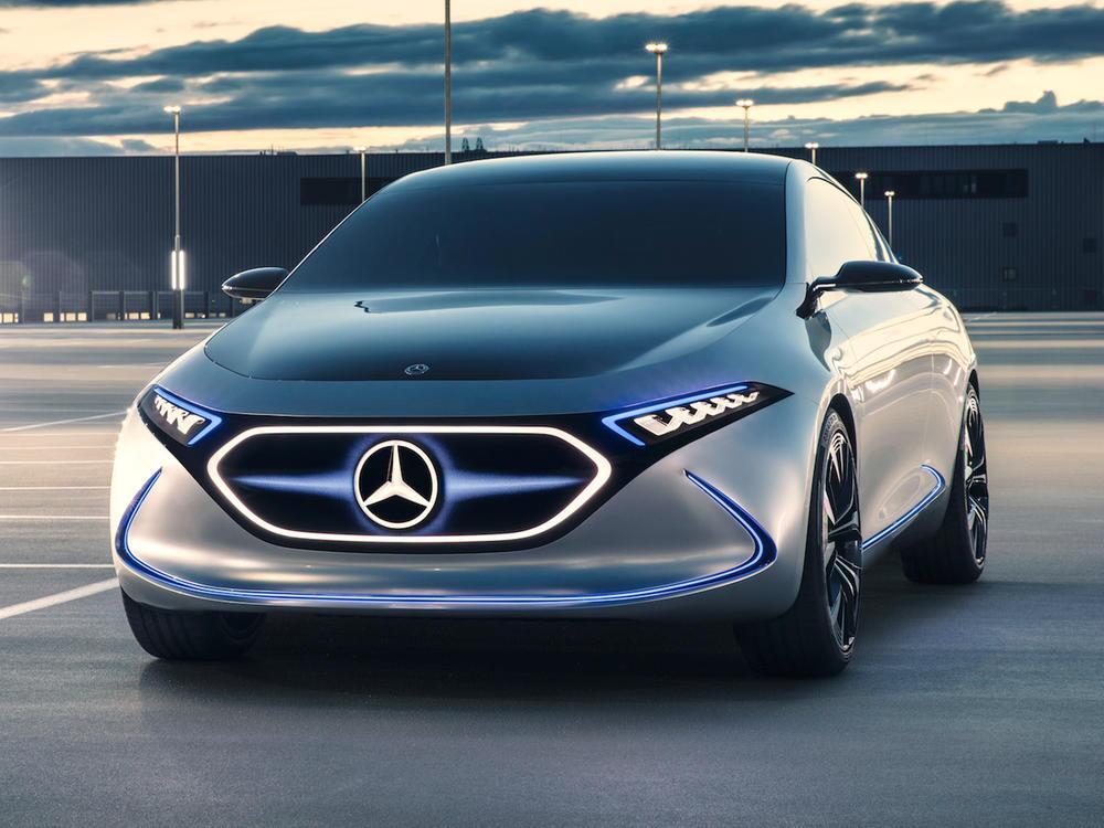 Bild zu Mercedes-Benz Concept EQA: Ausblick auf die vollelektrische Kompaktklasse