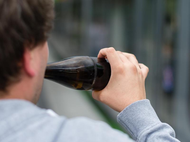Bild zu Alkohol in der Öffentlichkeit