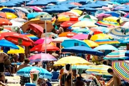 Spanien, Urlaub, Strand