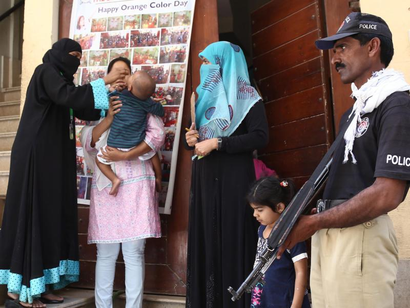 Bild zu Polio-Impfung in Pakistan