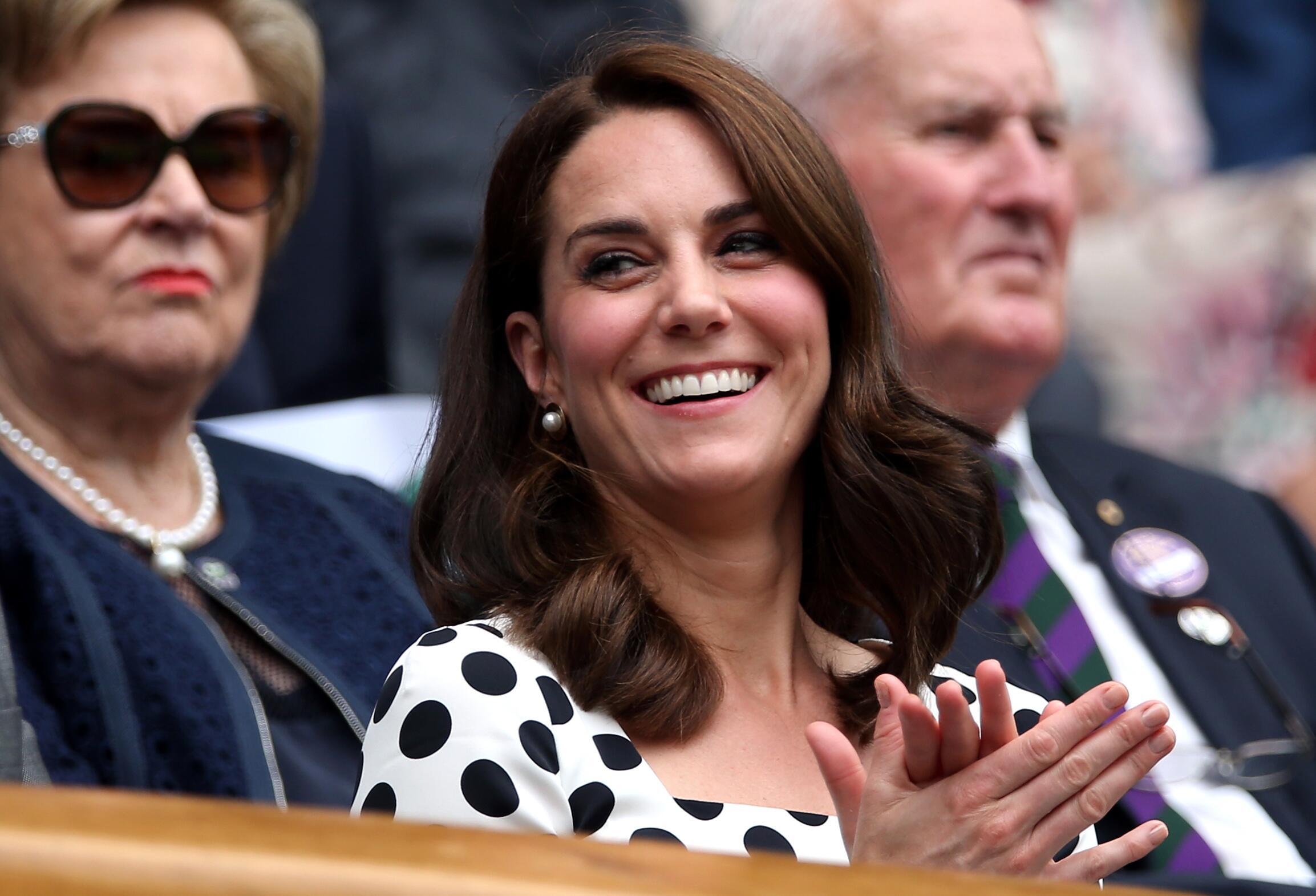 Bild zu Tennis Wimbledon, Herzogin Kate
